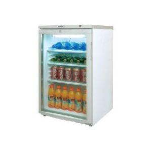 Шкаф холодильный для напитков (минибар), 105л, 1 дверь стекло, 3 полки, ножки, 0/+10С, стат.охл., белый