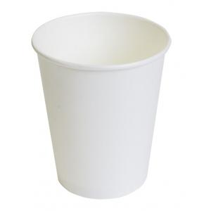Стакан для горячих напитков 250мл бумага белый