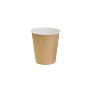 Стакан для горячих напитков Крафт 100мл бумага