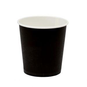 Стакан для горячих напитков BLACK 100мл бумага