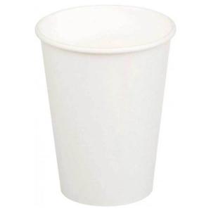 Стакан для горячих напитков 300мл бумага белый