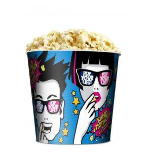 V 85 «Поп-Арт», стакан бумажный для попкорна