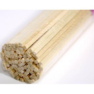 Палочки деревянные для сахарной ваты, для пищевой продукции, длина 400мм., сечение квадрат 5х5мм.