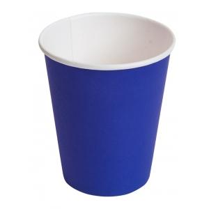 Стакан для горячих напитков BLUE 250мл бумага