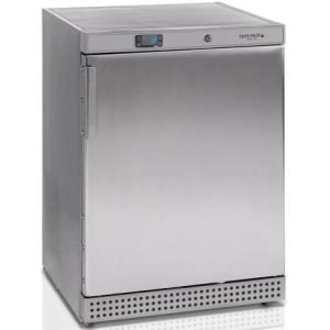 Шкаф морозильный,  200л, 1 дверь глухая, 2 полки, ножки, -10/-24С, стат.охл., нерж.сталь, R600a