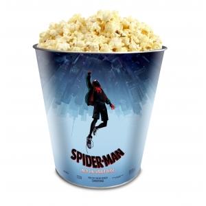 Жестяное ведро для попкорна «Человек-паук: Через вселенные», 130 унций/3.80л.