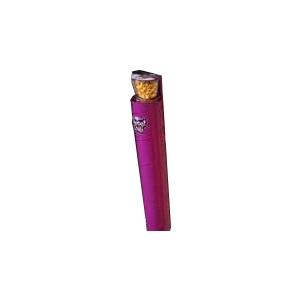 Диспенсер для  9 пластиковых стаканов готового попкорна Gourmet, настенный металлический, подача сверху пурпурный