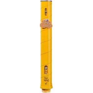 Диспенсер для 11 пластиковых стаканов готового попкорна Gourmet, настенный металлический, подача снизу, жёлтый