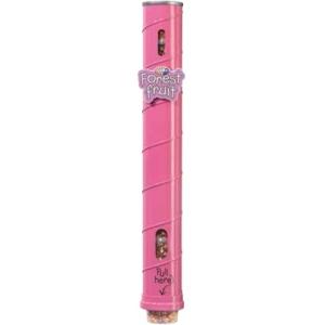 Диспенсер для 11 пластиковых стаканов готового попкорна Gourmet, настенный металлический, подача снизу, розовый