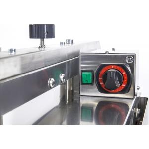 Гриль электрический контактный полуавтомат, 1 зона 0.15м2, поверхность гладкая+гладкая хром, настольный, 2х220В