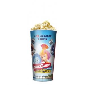 V 24 Стакан для попкорна «Фиксики против кработов»