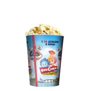 V 32 Стакан для попкорна «Фиксики против кработов»