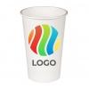 Стакан бумажный для холодных напитков 500мл с ЛОГОТИПОМ